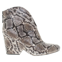 Diane von Furstenberg Ankle boots with Animalprint