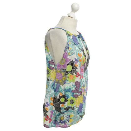 Etro Bluse mit Blumenmuster