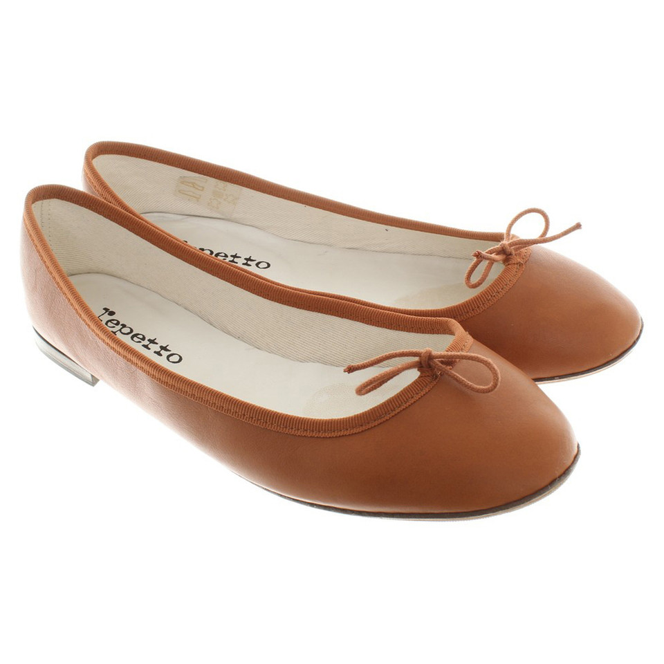 Repetto Ballerinas in Brown