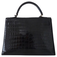 "Hermès ""Kelly Bag 32"" made of alligator leather"