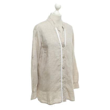 Marina Rinaldi Blouse van linnen shirt