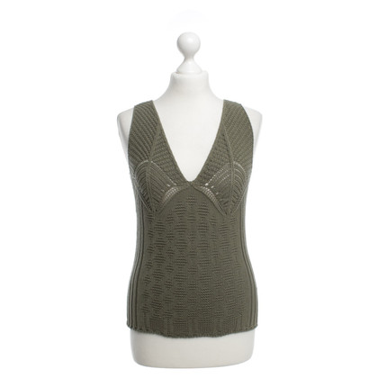 Strenesse Blue Knitted top in olive green