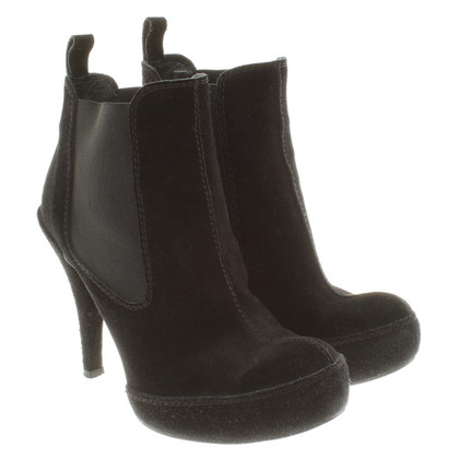 Pedro Garcia Ankle Boots mit Plateausohlen