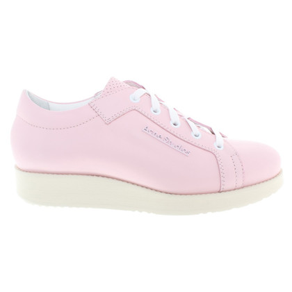 Acne Sneakers in Pink