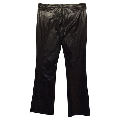 Moschino faux leather pants