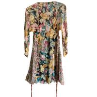 Twin-Set Simona Barbieri Seidenkleid mit floralem Muster