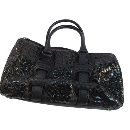 Bottega Veneta Smooth / patent leather handbag