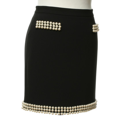 Moschino skirt with beaded trim
