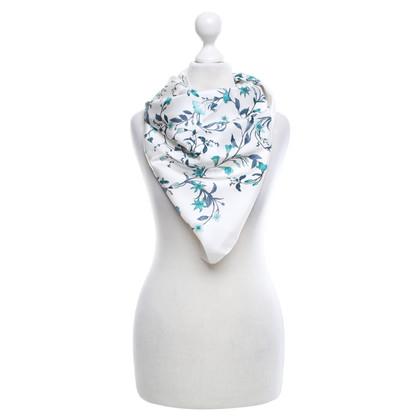 Gucci Zijden sjaal met bloemenprint