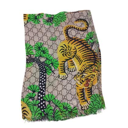 Gucci sjaal patroon