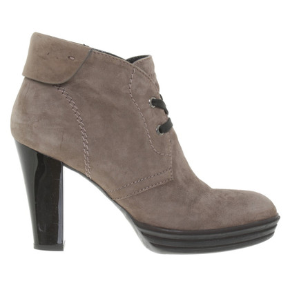 Hogan Ankle boots in taupe