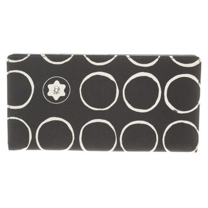 Mont Blanc Card-Holder in black / white
