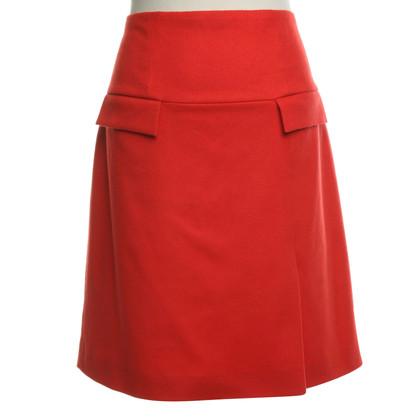 St. Emile skirt in red