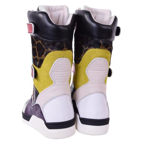 amp; Gabbana in Stiefel Stiefel in Bunt Multicolor Muster Muster Gabbana Bunt Multicolor amp; Dolce Dolce v8qwP8xz