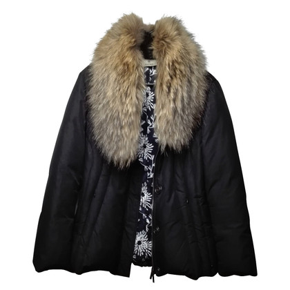 Aigner Down jacket with fur trim