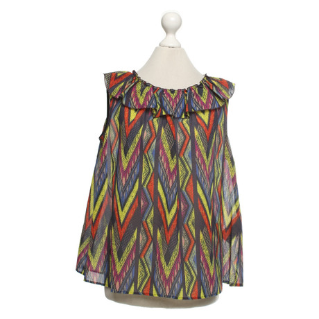 Missoni Shirt in Multicolor Bunt / Muster