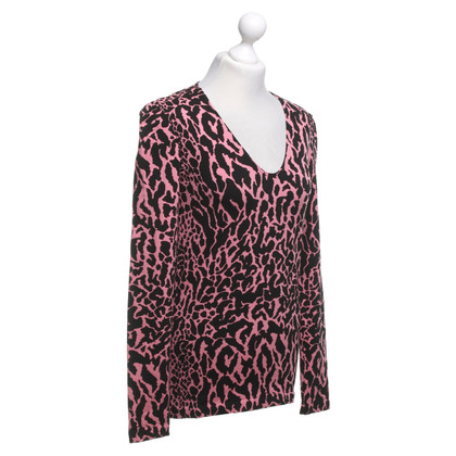 Wolford Long sleeve shirt with Leo print