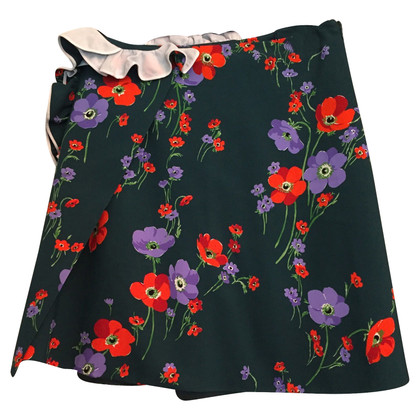 N°21 skirt with floral pattern