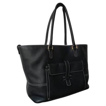 Loro Piana Leder-Shopper