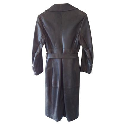 Max Mara leather coat