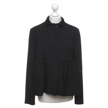 Miu Miu Kort jasje in zwart