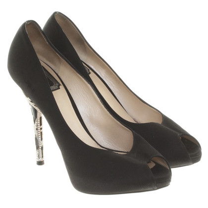 Christian Dior pumps with application