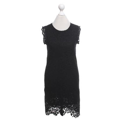 Au Jour Le Jour Lace dress in black