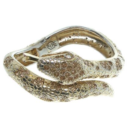 Philipp Plein Sotto forma di serpente bracciale