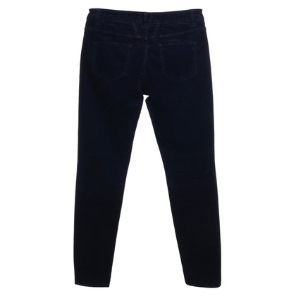 Closed Velvet trousers in dark blue