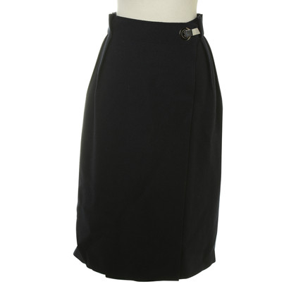 Lanvin Wrap-around skirt wool