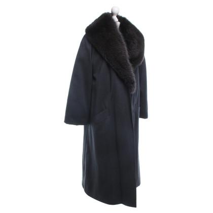 Andere Marke Mantel mit Echtpelzkragen