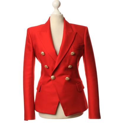 Balmain Blazer in red