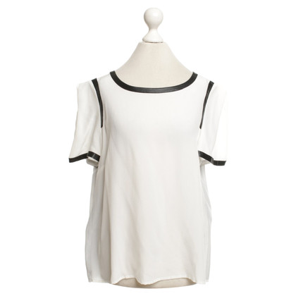 Max & Co Blouse overhemd zwart / White