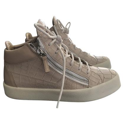 Giuseppe Zanotti Sneakers in Nude