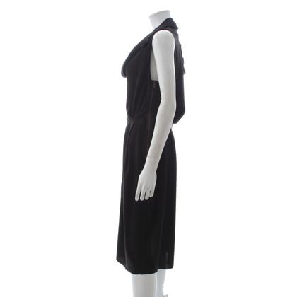 Lanvin Robe sans manches en noir