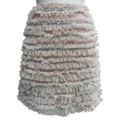 Versace skirt with tulle / sequins