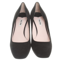 Miu Miu pumps from suede