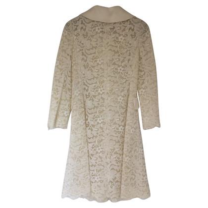 Dolce & Gabbana White Lace long Jacket