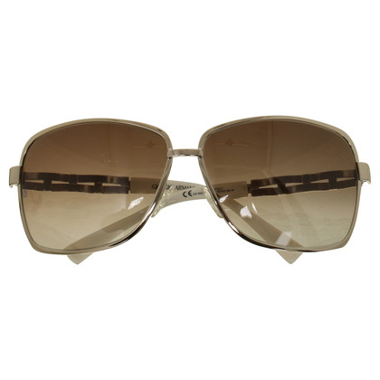 Giorgio Armani Sunglasses with metal plaiting details