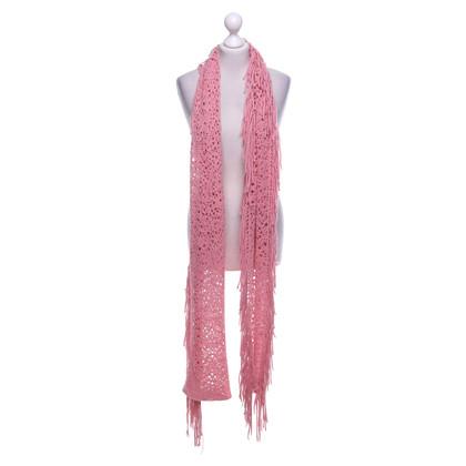 Ermanno Scervino Scarf in pink
