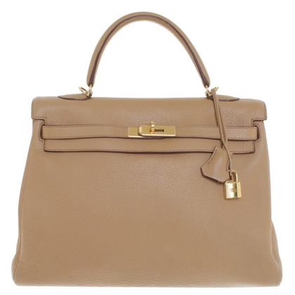 """Hermès """"Kelly Bag 35 Clémence-Leder"""""""