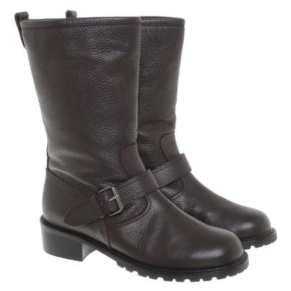 Giuseppe Zanotti Boots in Bruin