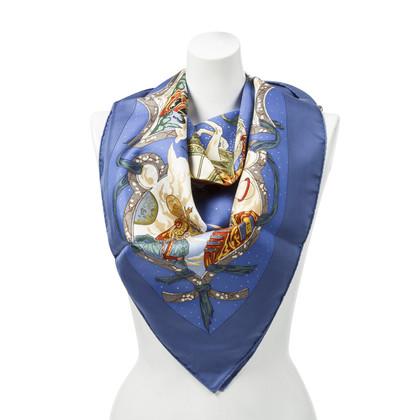 "Hermès Silk scarf ""Cavaliers of Nuages"""