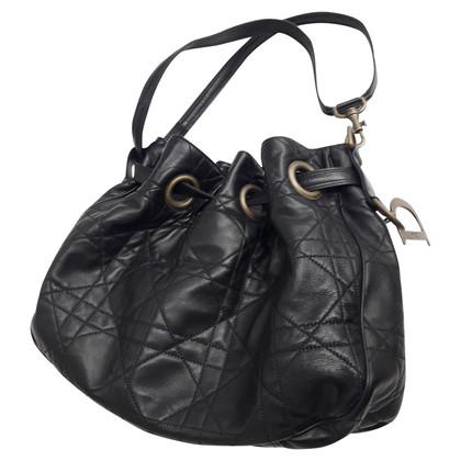 Christian Dior Black leather handbag