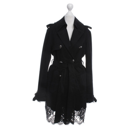 Philipp Plein Trenchcoat in zwart