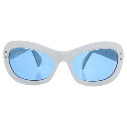 Cutler & Gross Sonnenbrille mit blauen Gläsern