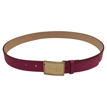 Dsquared2 Fuchsia Leren belt