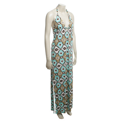 Milly Maxi dress with floral pattern