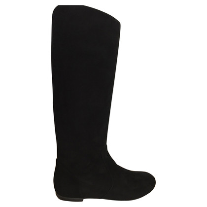 Giuseppe Zanotti Knee high suede pull on boots