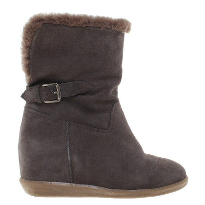 L.K. Bennett Ankle Boots in Gray